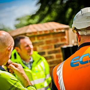 ECS works with EA to protect South East from flooding