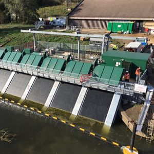 Anglian Water protecting eels in River Nene