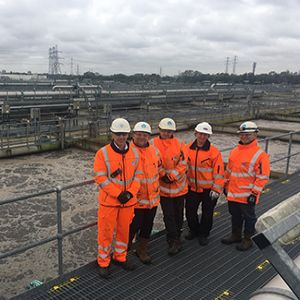 Energy savings achieved at Europe's largest sewage works