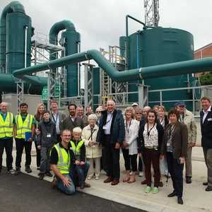 Thames Water opens upgraded Mogden STW