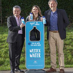 Wessex Water helping Bath Half go plastic free