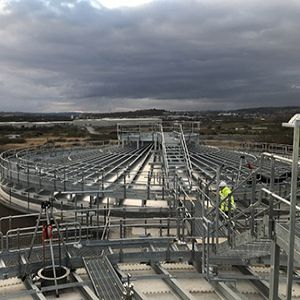 £18m sewage works upgrade progressing well