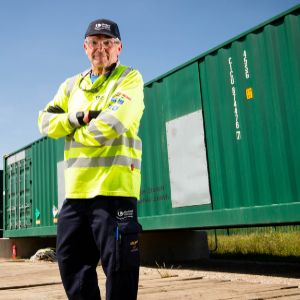 United Utilities installs batteries at Preston plant