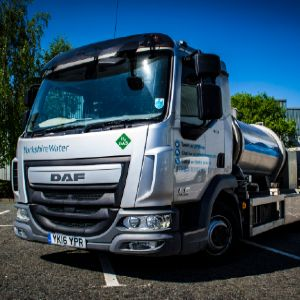 Yorkshire Water claims industry-first with hydrogen-fuelled tanker
