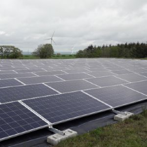 Scottish Water installs ground-mounted solar at Glassford reservoir