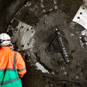 Tunnel Boring Machine Charlotte completes connection tunnel drive