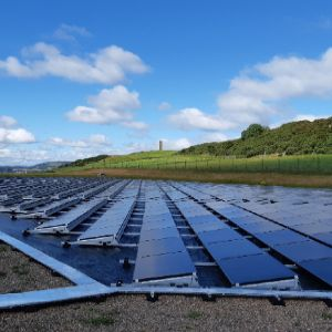 Scottish Water installs PV at Fife reservoir