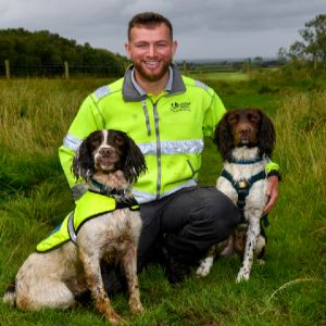 United Utilities new leak detection dog reaches training milestone