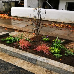 Permeable paving which protects homes from flooding up for award