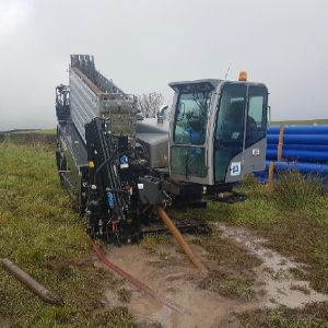 Scottish Water Horizons uses trenchless 'King of Rock' drill for water connections