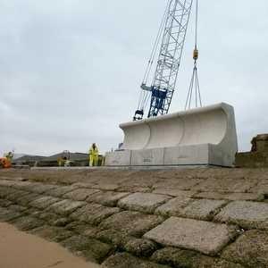 Grimsby flood scheme takes off