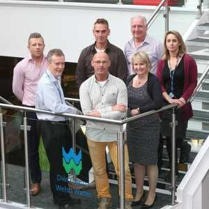 Oasen staff visit DCWW in employee exchange programme