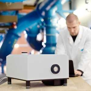 Laser sampler offers automated testing